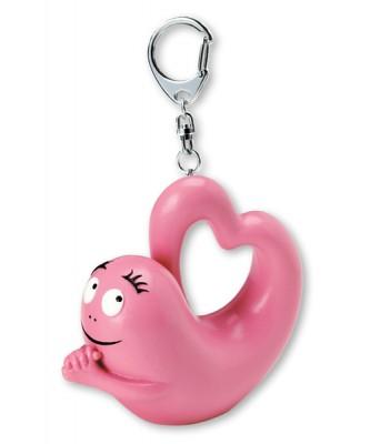 Barbapapa love valentijn sleutelhanger