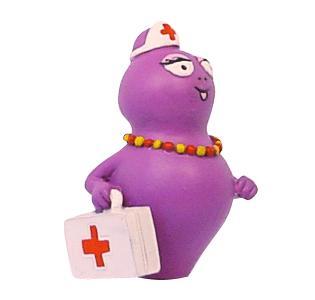 Barbabella verpleegster poppetje