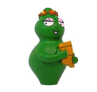 Barbalala met panfluit poppetje