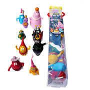 Barbapapa mini figuren tube middeleeuwen