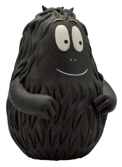 Barbapapa spaarpot Barbabob zwart kunststof