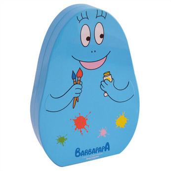 Blik - Barbabenno - blauw - verf