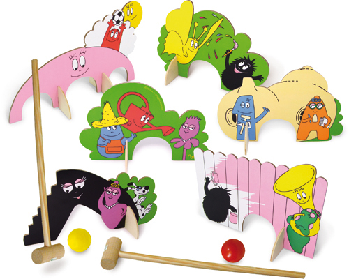 Barbapapa Cricketspel