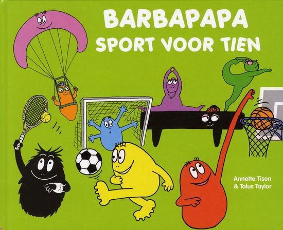 Boek - Barbapapa sport voor tien
