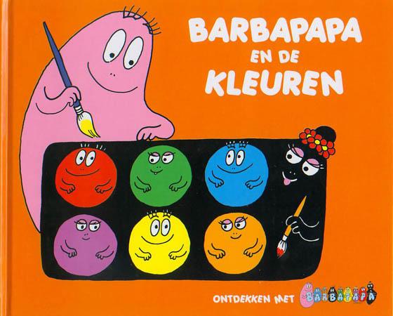 Boek - Barbapapa  en de kleuren