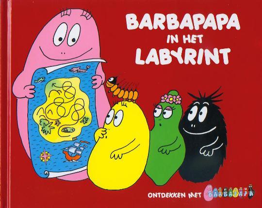 Boek - Barbapapa  in het labyrinth