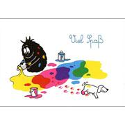 Postkaart Barbapapa Barbabob Viel Spaß (DE)