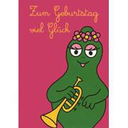 Postkaart Barbalala Zum Gebutstag viel Glück (DE)