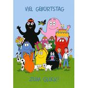 Postkaart Barbapapa Viel geburtstag zum glück (DE)