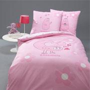 Barbapapa dekbedovertrek Love roze