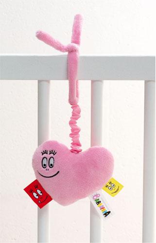 Barbapapa wieg speelgoed roze