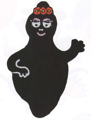 Barbapapa strijkapplicatie Barbamama