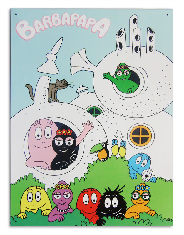 Barbapapa muur poster