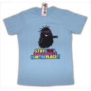T-shirt heren Barbabob/Cool, blauw, maat S