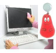 Barbaborre LCD / tablet poetser  (rood)