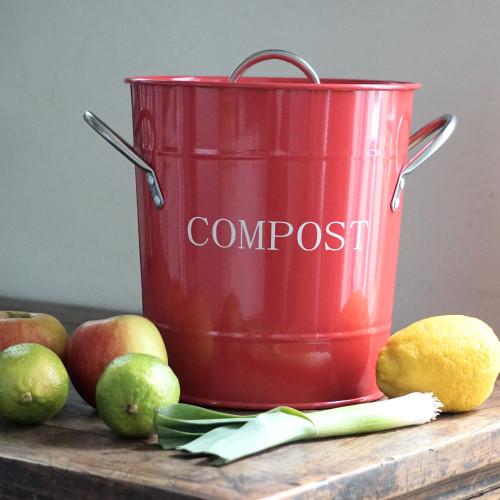 Retro Compostemmer Rood