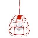 Draadlamp theelicht rood