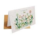 Groei wenskaart bloemetje voor jou