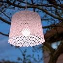 Hanglamp Tuin Roze (op batterij) patroon 3