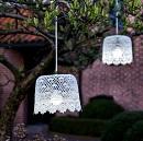 Hanglamp Tuin Wit (op batterij) patroon 1