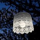 Hanglamp Tuin Wit (op batterij) patroon 2