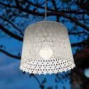 Hanglamp Tuin Wit (op batterij) patroon 3