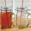 Mason Jar Drinkbekers set van 4