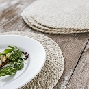 Placemats set van 4 Jute