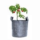 Plantzak Grijs 16 ltr met handvat