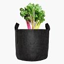 Plantzak Zwart 30 ltr met handvat