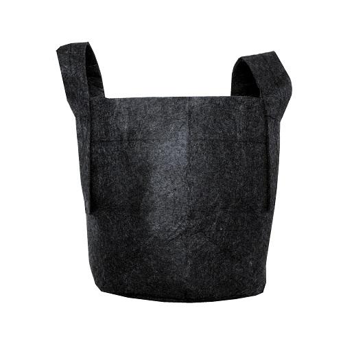 Plantzak Zwart 8 ltr met handvat