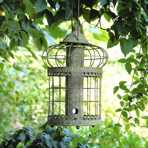 Vogelzaadhouder Groen