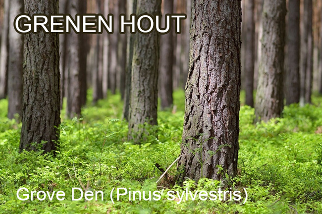 Grenen hout E-woodproducts