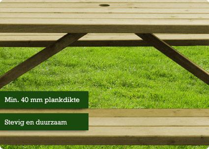 plankdikte-picknicktafel