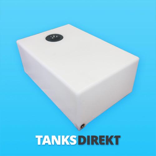 105 Liter Wassertank flach
