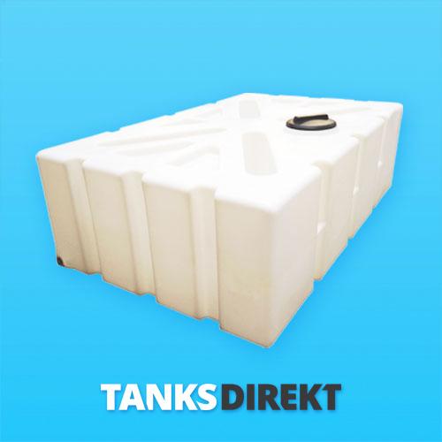1250 Liter Wassertank flach mit Schwallwand
