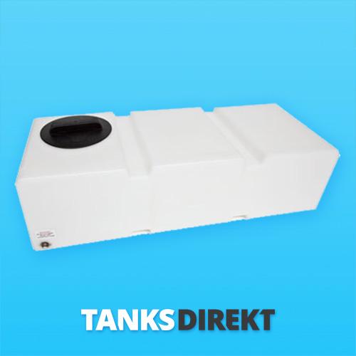 125 Liter Wassertank flach