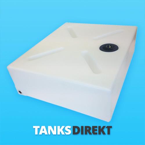 150 Liter Wassertank flach mit Schwallwand