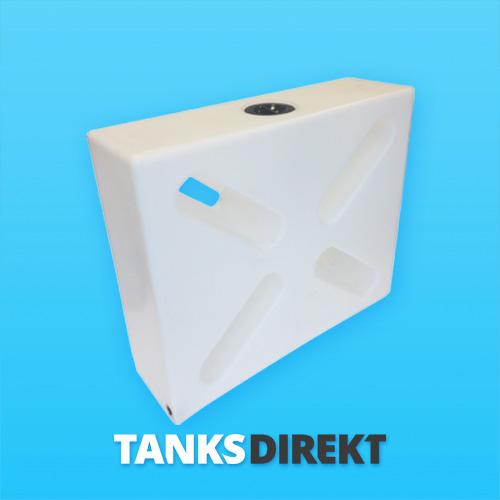 150 Liter Wassertank vertikal mit Schwallwand