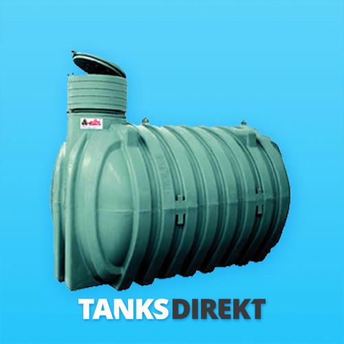 RPO-10.000 Liter zylindrischer, horizontaler Erdeinbau Tank