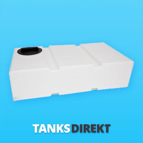 175 Liter Wassertank flach