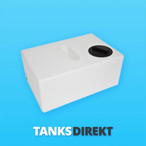 210 Liter Wassertank flach mit Schwallwand