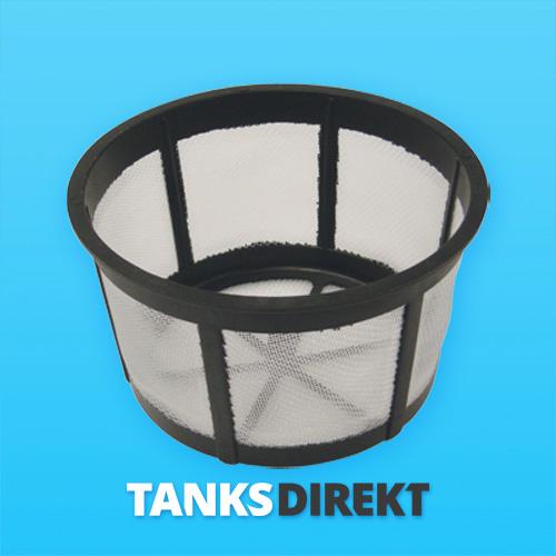 Filter mit einem Durchmesser von 20 cm x 12 cm tief