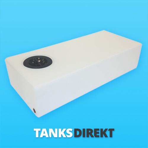 30 Liter Wassertank flach 12 cm Deckel