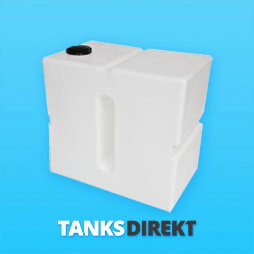 350 Liter Wassertank vertikal mit Schwallwand