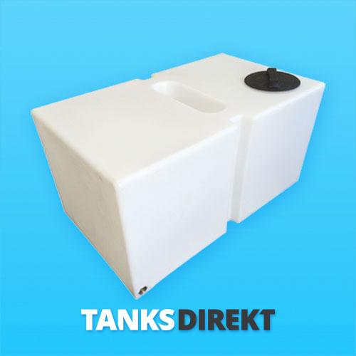 450 Liter Wassertank flach mit Schwallwand