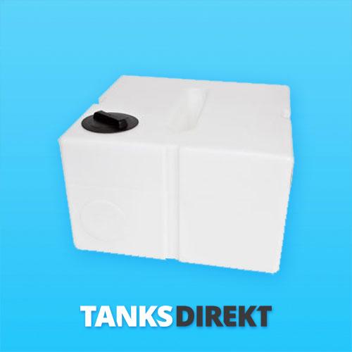 500 Liter Wassertank flach mit Schwallwand
