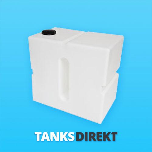 500 Liter Wassertank vertikal mit Schwallwand