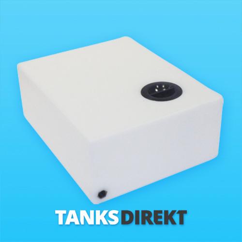 64 Liter Wassertank flach
