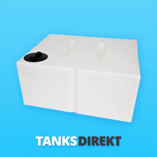 650 Liter Wassertank flach mit Schwallwand